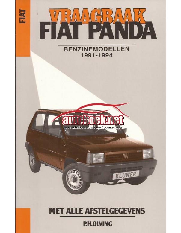 Fiat Panda Vraagbaak P. Olving  Benzine Kluwer 1991-1994 nieuw ISBN 90-201-2897-3 Nederlands 1991 1992 1993 1994