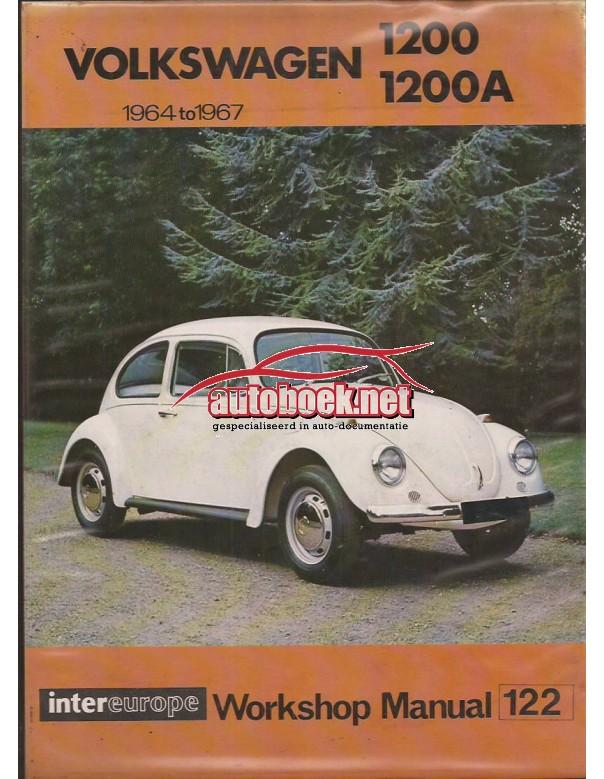 Volkswagen 1200/1200A Intereurope Repair Manuals   Benzine Intereurope 64-67 ongebruikt harde kaft  Engels