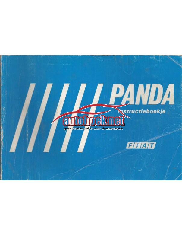 Fiat Panda Instructieboekje   Benzine Fabrikant 84 met gebruikssporen    Nederlands