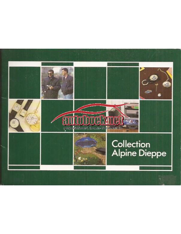 Alpine boutique brochure 24 pagina's ca 1991 met gebruikssporen Nederlands