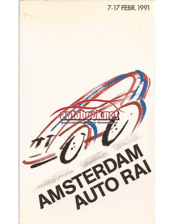 Jaarboek  Alle modellen RAI 91 ongebruikt   Nederlands