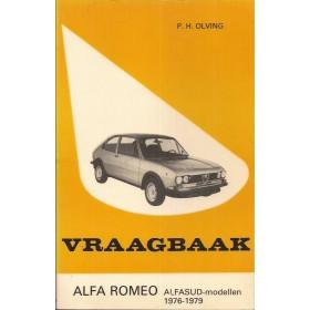 Alfa Romeo Alfasud Vraagbaak P. Olving  Benzine Kluwer 76-79 ongebruikt   Nederlands