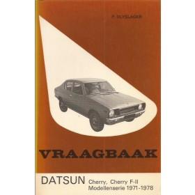 Datsun Cherry (F-II) Vraagbaak P. Olyslager  Benzine Kluwer 71-78 met gebruikssporen   Nederlands