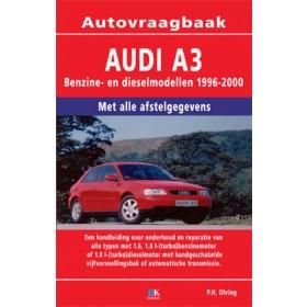 Audi A3 Vraagbaak P. Olving  Benzine/Diesel 1996-2000 nieuw ISBN 978-90-2159-902-1 Nederlands 1996 1997 1998 1999 2000