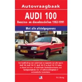 Audi 100 Vraagbaak P. Olving  Benzine/Diesel 1982-1991 nieuw ISBN 978-90-2154-100-6 Nederlands 1982 1983 1984 1985 1986 1987 1988 1989 1990 1991