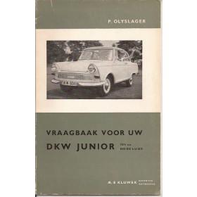 DKW Junior 750/800 Vraagbaak P. Olyslager  Benzine Kluwer 60-62 ongebruikt   Nederlands