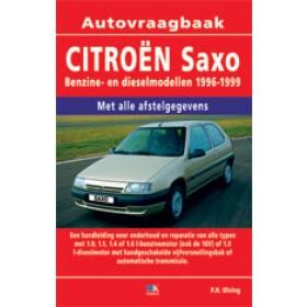 Citroen Saxo Vraagbaak P. Olving  Benzine/Diesel Kluwer 1996-1999 nieuw ISBN 978-90-8572-197-0 Nederlands 1996 1997 1998 1999