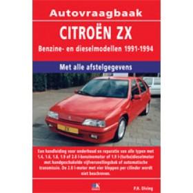 Citroen ZX Vraagbaak P. Olving  Benzine/Diesel 1991-1994 nieuw ISBN 978-90-2153-973-7 Nederlands 1991 1992 1993 1994