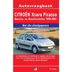 Citroen Xsara Picasso Vraagbaak P. Olving  Benzine/Diesel Kluwer 99-02 nieuw   ISBN 90-215-3722-2 Nederlands