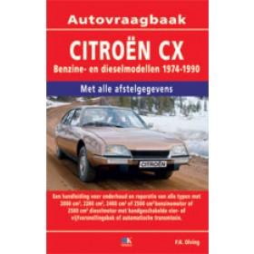 Citroen CX Vraagbaak P. Olving  Benzine/Diesel 1974-1990 nieuw ISBN 978-90-215-8905-3 Nederlands 1974 1975 1976 1977 1978 1979 1980 1981 1982 1983 1984 1985 1986 1987 1988 1989 1990