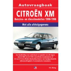Citroen XM Vraagbaak P. Olving  Benzine/Diesel 1990-1998 nieuw ISBN 978-90-215-3328-5 Nederlands 1990 1991 1992 1993 1994 1995 1996 1997 1998