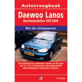 Daewoo Lanos Vraagbaak P. Olving  Benzine 1997-2000 nieuw ISBN 978-90-2159-628-0 Nederlands 1997 1998 1999 2000