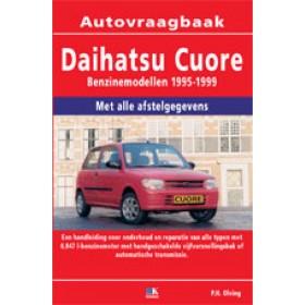 Daihatsu Cuore Vraagbaak P. Olving  Benzine 1995-1999 nieuw   ISBN 978-90-8572-061-4 Nederlands 1995 1996 1997 1998 1999