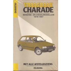 Daihatsu Charade Vraagbaak P. Olving  Benzine/Diesel Kluwer 78-87 nieuw   ISBN 90-201-1975-3 Nederlands