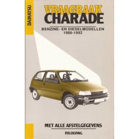 Daihatsu Charade Vraagbaak P. Olving  Benzine/Diesel Kluwer 88-92 nieuw   ISBN 90-201-2595-8 Nederlands