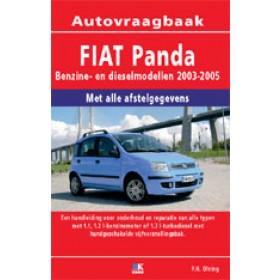 Fiat Panda Vraagbaak P. Olving  Benzine/Diesel 2003-2005 nieuw ISBN 978-90-2158-146-0 Nederlands 2003 2004 2005