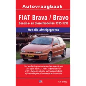 Fiat Bravo/Brava Vraagbaak P. Olving 1.6/1.8/1.9TD Benzine/Diesel 1996-1999 nieuw ISBN 978-90-2153-240-0 Nederlands 1996 1997 1998 1999