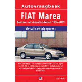 Fiat Marea Vraagbaak P. Olving Benzine/Diesel 1996-1999 nieuw ISBN 978-90-2159-618-1 Nederlands