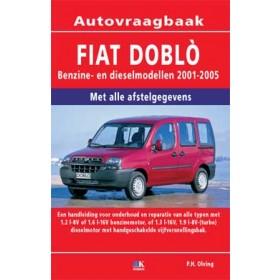 Fiat Doblo Vraagbaak P. Olving  Benzine/Diesel Kosmos  nieuw   Nederlands