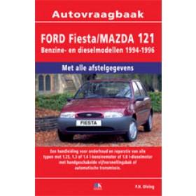 Ford Fiesta Mazda 121 Vraagbaak P. Olving Benzine/Diesel 1994-1996 nieuw ISBN 978-90-2154-205-8 Nederlands 1994 1995 1996