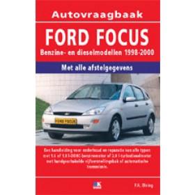 Ford Focus Vraagbaak P. Olving  Benzine/Diesel 1998-2000 nieuw   ISBN 978-90-8572-219-9 Nederlands 1998 1999 2000