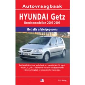 Hyundai Getz Vraagbaak P. Olving  Benzine/Diesel 2003-2005 nieuw   ISBN 978-90-8572-187-1 Nederlands 2003 2004 2005
