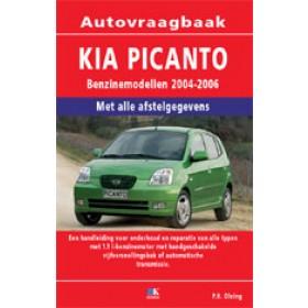 Kia Picanto Vraagbaak P. Olving  Benzine/Diesel Kluwer 04-06 nieuw   ISBN 90-215-1290-7 Nederlands