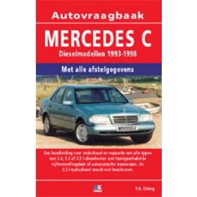 Mercedes-Benz C-klasse Vraagbaak P. Olving W202 Diesel 1993-1998 nieuw ISBN 978-90-2154-070-2 Nederlands 1993 1994 1995 1996 1997 1998