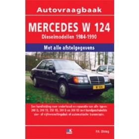 Mercedes-Benz E-klasse Vraagbaak P. Olving W124 Diesel 1984-1990 nieuw ISBN 978-90-2159-698-3 Nederlands 1984 1985 1986 1987 1988 1989 1990