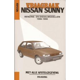 Nissan Sunny Vraagbaak P. Olving Benzine/Diesel Kluwer 1986-1990 nieuw ISBN 90-201-2553-2 Nederlands 1986 1987 1988 1989 1990