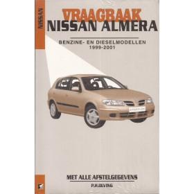 Nissan Almera Vraagbaak P. Olving  Benzine/Diesel Kluwer 99-01 nieuw   ISBN 90-215-9880-9 Nederlands