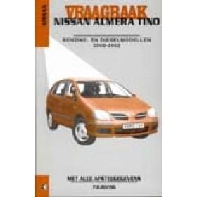 Nissan Almera Tino Vraagbaak P. Olving Benzine/Diesel Kluwer 2000-2002 nieuw ISBN 90-215-3805-9 Nederlands 2000 2001