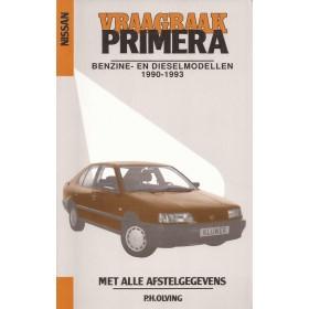 Nissan Primera Vraagbaak P. Olving Benzine/Diesel Kluwer 1990-1993 nieuw ISBN 90-201-2753-5 Nederlands 1990 1991 1992 1993