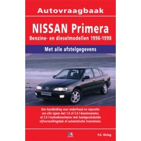 Nissan Primera Vraagbaak P. Olving Benzine/Diesel 1996-1998 nieuw ISBN 978-90-2153-338-4 Nederlands 1996 1997 1998