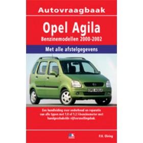 Opel Agila Vraagbaak P. Olving  Benzine 2000-2002 nieuw ISBN 978-90-2153-534-0 Nederlands 2000 2001 2002