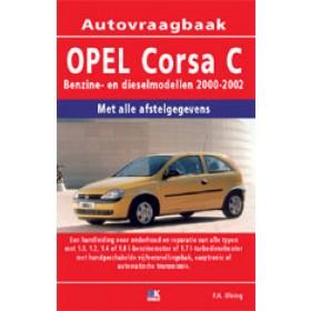 Opel Corsa C Vraagbaak P. Olving  Benzine/Diesel Kluwer 00-02 nieuw   ISBN 90-215-3742-7 Nederlands