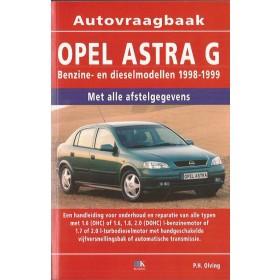 Opel Astra G Vraagbaak P. Olving  Benzine/Diesel 1998-1999 nieuw ISBN  978-90-8572-196-3 Nederlands 1998 1999
