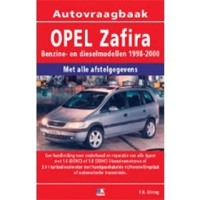 Opel Zafira A Vraagbaak P. Olving  Benzine/Diesel 1998-2000 nieuw ISBN 978-90-2159-606-8 Nederlands 1998 1999 2000