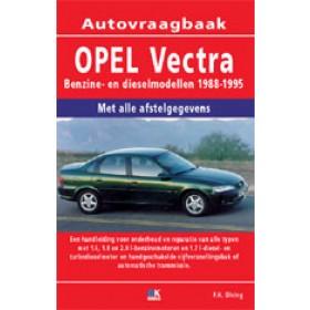 Opel Vectra A Vraagbaak P. Olving  Benzine/Diesel 1988-1995 nieuw ISBN 978-90-2154-179-2 Nederlands 1988 1989 1990 1991 1992 1993 1994 1995