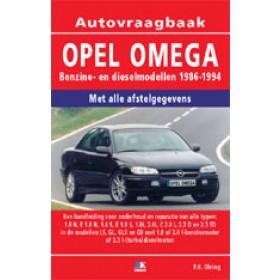 Opel Omega A Vraagbaak P. Olving  Benzine/Diesel 1986-1994 nieuw ISBN 978-90-2154-140-2 Nederlands 1986 1987 1988 1989 1990 1991 1992 1993 1994