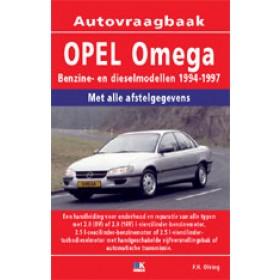 Opel Omega B Vraagbaak P. Olving  Benzine/Diesel 1994-1997 nieuw ISBN 978-90-2153-348-3 Nederlands 1994 1995 1996 1997