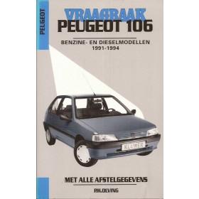 Peugeot 106 Vraagbaak P. Olving  Benzine/Diesel Kluwer 1991-1994 nieuw   ISBN 90-201-2901-5 Nederlands 1991 1992 1993 1994