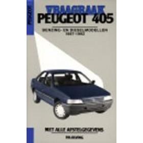 Peugeot 405 Vraagbaak P. Olving Benzine/Diesel Kluwer 1987-1992 nieuw ISBN 90-215-9587-7 Nederlands 1987 1988 1989 1990 1991 1992