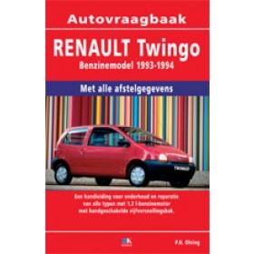 Renault Twingo Vraagbaak P. Olving  Benzine 1993-1995 nieuw ISBN 978-90-8572-141-3 Nederlands 1993 1994 1995