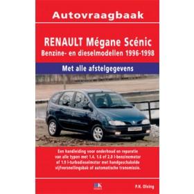 Renault Megane Scenic Vraagbaak P. Olving  Benzine/Diesel Kluwer 95-97 nieuw   ISBN 90-215-3358-2 Nederlands