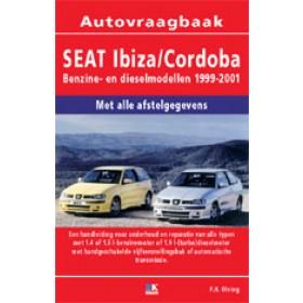 Seat Ibiza/Cordoba Vraagbaak P. Olving  Benzine/Diesel 1999-2001 nieuw ISBN 978-90-2159-638-9 Nederlands 1999 2000 2001