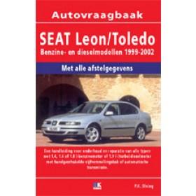 Seat Leon/Toledo Vraagbaak P. Olving  Benzine/Diesel 1999-2002 nieuw ISBN 978-90-2153-785-6 Nederlands 1999 2000 2001 2002