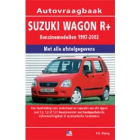Suzuki Wagon R+ Vraagbaak P. Olving Benzine 1997-2002 nieuw ISBN 978-90-215-3514-2 Nederlands 1997 1998 1999 2000 2001 2002