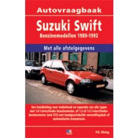 Suzuki Swift Vraagbaak P. Olving  Benzine/Diesel 1989-1992 nieuw ISBN 978-90-215-4706-0 Nederlands 1989 1990 1991 1992
