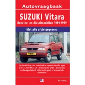 Suzuki Vitara Vraagbaak P. Olving  Benzine/Diesel Kluwer 89-99 nieuw   ISBN 90-215-8114-0 Nederlands